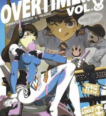 overtime overwatch fanbook vol 2 cover
