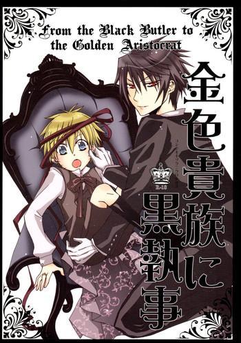 kin iro kizoku ni kuro shitsuji from the black butler to the golden aristocrat cover
