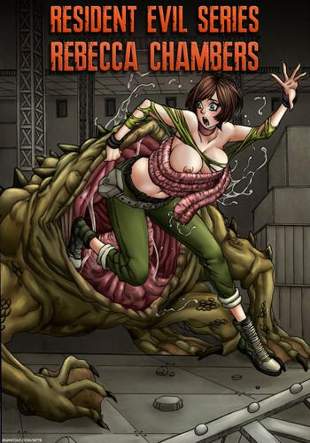 resident evil series rebecca chambers cover